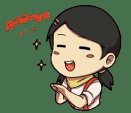Yumna - (Battle of Surabaya) sticker #10464639