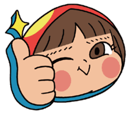 Mari, Wonder Girl by Pex sticker #10466921