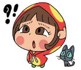 Mari, Wonder Girl by Pex sticker #10466922