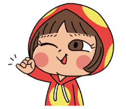 Mari, Wonder Girl by Pex sticker #10466923