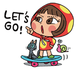 Mari, Wonder Girl by Pex sticker #10466934
