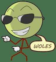 Gaul Emoticon sticker #10491948