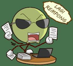 Gaul Emoticon sticker #10491957