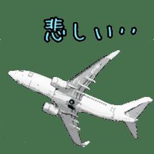 Airplane Sticker sticker #10493455