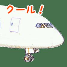 Airplane Sticker sticker #10493458