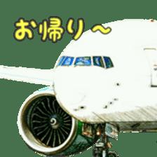 Airplane Sticker sticker #10493462