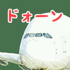 Airplane Sticker sticker #10493463