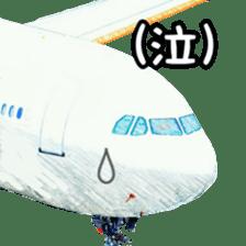 Airplane Sticker sticker #10493466