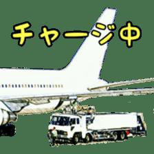 Airplane Sticker sticker #10493474