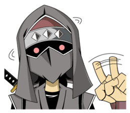 Ninja 2nd -SHINOBI- sticker #10497641