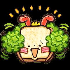 funny sandwich style