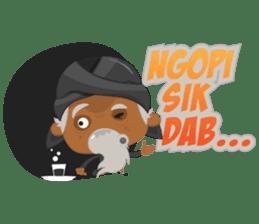 MBAH JENGGOT-Bearded OldMan from Jogja sticker #10503362