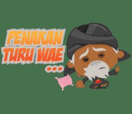 MBAH JENGGOT-Bearded OldMan from Jogja sticker #10503381