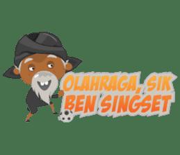 MBAH JENGGOT-Bearded OldMan from Jogja sticker #10503386