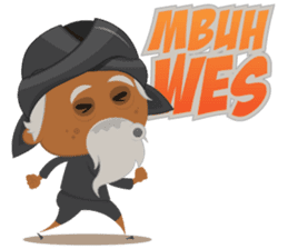 MBAH JENGGOT-Bearded OldMan from Jogja sticker #10503392