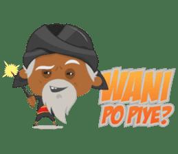 MBAH JENGGOT-Bearded OldMan from Jogja sticker #10503394