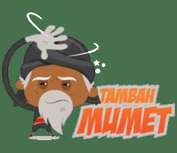 MBAH JENGGOT-Bearded OldMan from Jogja sticker #10503397