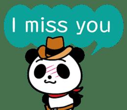 COWBOY PANDA 4 (English ver.) sticker #10518527