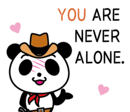 COWBOY PANDA 4 (English ver.) sticker #10518529