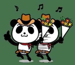 COWBOY PANDA 4 (English ver.) sticker #10518531