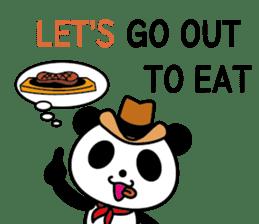 COWBOY PANDA 4 (English ver.) sticker #10518536