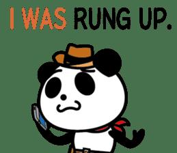 COWBOY PANDA 4 (English ver.) sticker #10518540
