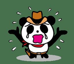 COWBOY PANDA 4 (English ver.) sticker #10518544