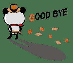 COWBOY PANDA 4 (English ver.) sticker #10518550