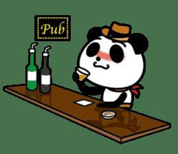 COWBOY PANDA 4 (English ver.) sticker #10518555