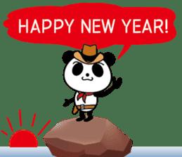 COWBOY PANDA 4 (English ver.) sticker #10518559