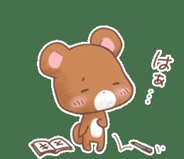 Rabbit & Bear's loves ticker. Bear ver. sticker #10524828