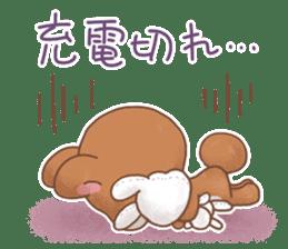 Rabbit & Bear's loves ticker. Bear ver. sticker #10524835