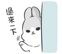 Machiko rabbit 3 sticker #10525080