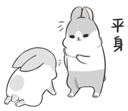 Machiko rabbit 3 sticker #10525082