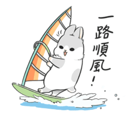 Machiko rabbit 3 sticker #10525090