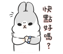 Machiko rabbit 3 sticker #10525093