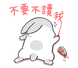Machiko rabbit 3 sticker #10525096