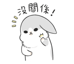 Machiko rabbit 3 sticker #10525100