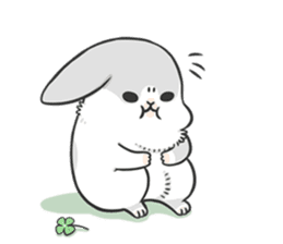 Machiko rabbit 3 sticker #10525103