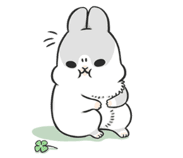 Machiko rabbit 3 sticker #10525104