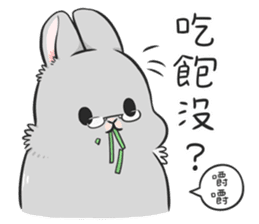 Machiko rabbit 3 sticker #10525109