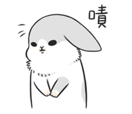 Machiko rabbit 3 sticker #10525110