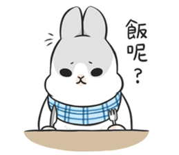 Machiko rabbit 3 sticker #10525113