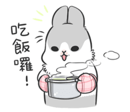 Machiko rabbit 3 sticker #10525114