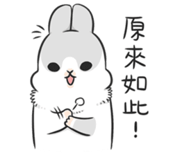 Machiko rabbit 3 sticker #10525115