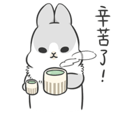 Machiko rabbit 3 sticker #10525116