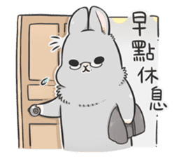 Machiko rabbit 3 sticker #10525118