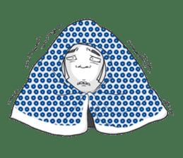 OCD girl sticker #10535029
