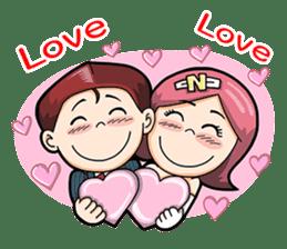 Wedding Couple sticker #10538953
