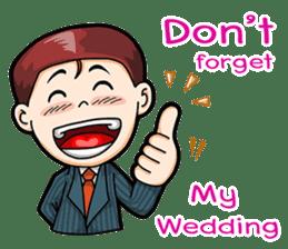 Wedding Couple sticker #10538956